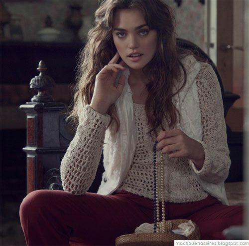 Sweet otoño invierno 2012. Moda invierno 2012 indumentaria femenina.