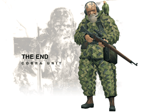 Image result for the end metal gear solid 3