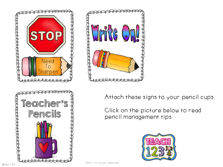 http://teach123-school.blogspot.com/2012/08/pencil-management.html