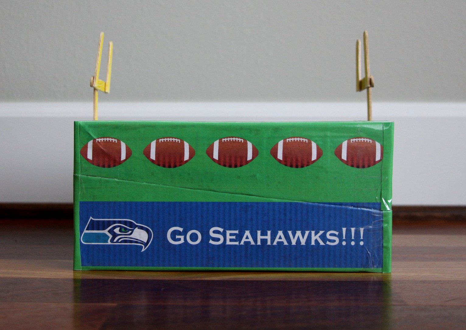 The Contemplative Creative Seahawks Valentine Box