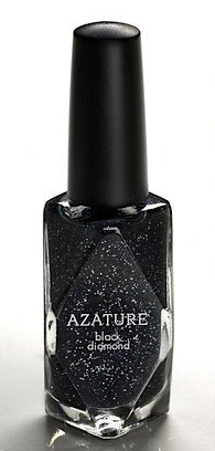 azature black diamond nail polish expensive hollywood celebrity cosmetics