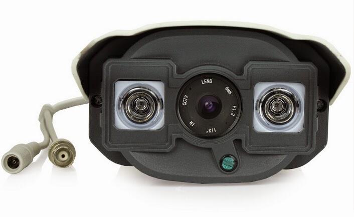 Plafoniera Da Esterno Con Telecamera : Telecamera bianca hd camera grandangolo tvl mm da esterno