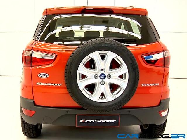 Novo Ford EcoSport 2013 - traseira