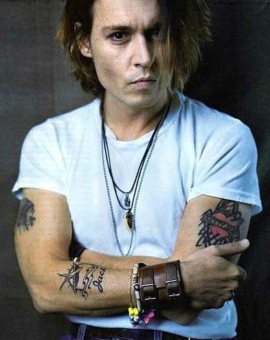 johnny depp quotes about tattoos quotesgram