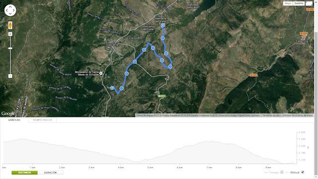 Mapa segundo tramo