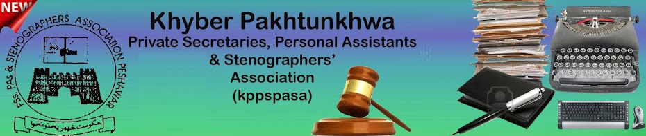 Khyber Pakhtunkhwa Private Secretaries, Personal Assistants &amp; Stenographers&#39; Association