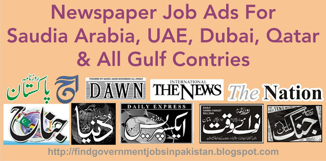 find all job ads for saudia arabia, uae, dubai, qatar