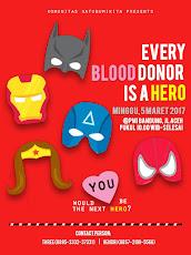 Donor Darah dan Kopdar sabuki, 5 Maret 2017