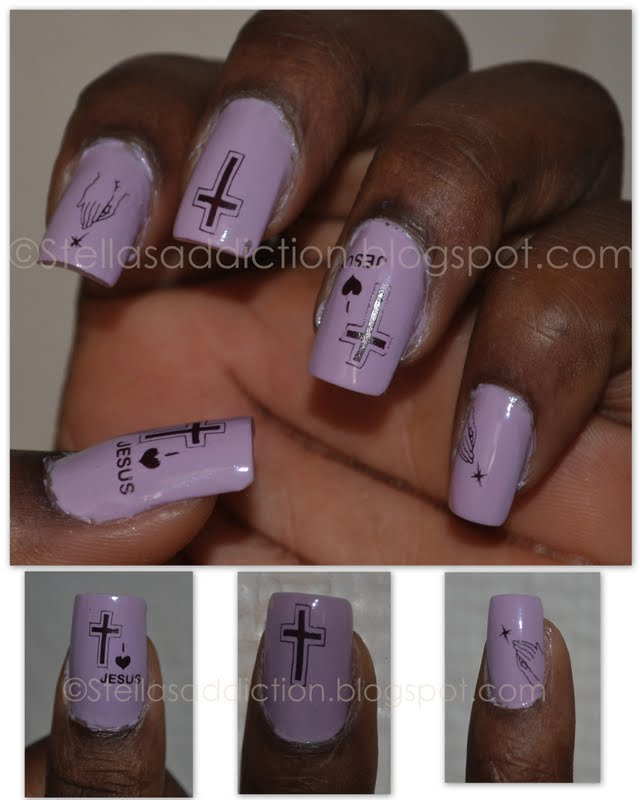 NOTD: Nail art for Easter - Stella\'s Addiction