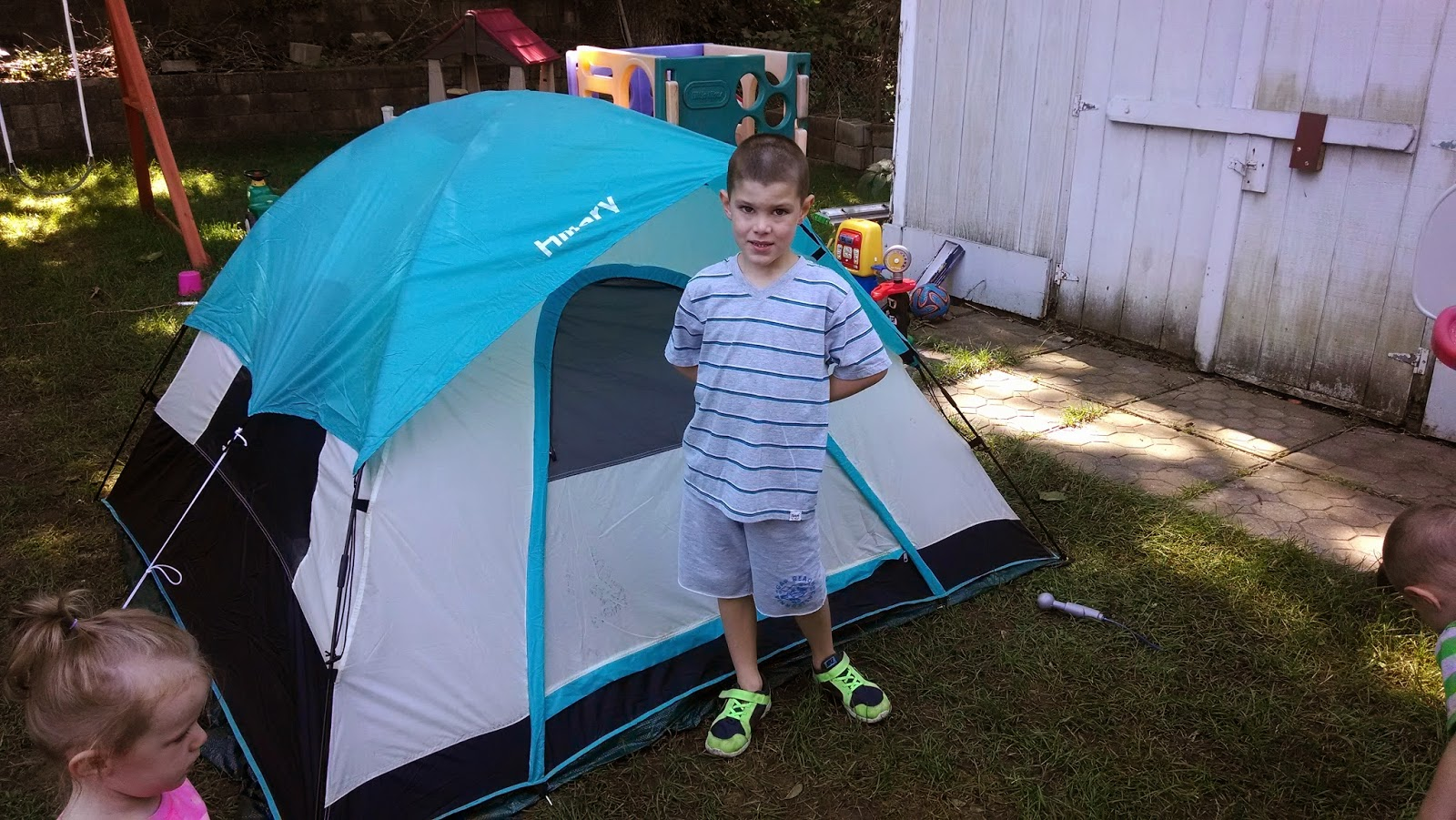 kidspert backyard summer camp out