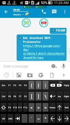 Download BBM Mod Proklamator Simple Mod Apk