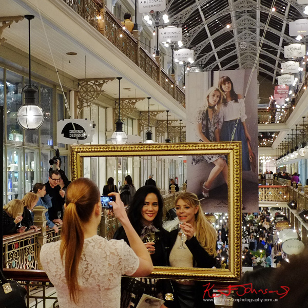 Famed and Framed at the Strand! The Strand Arcade, Evening with our Designers. Photography by Kent Johnson.