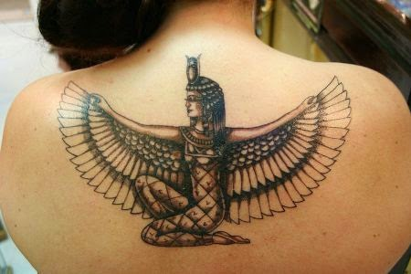 egyptian eagle tattoo