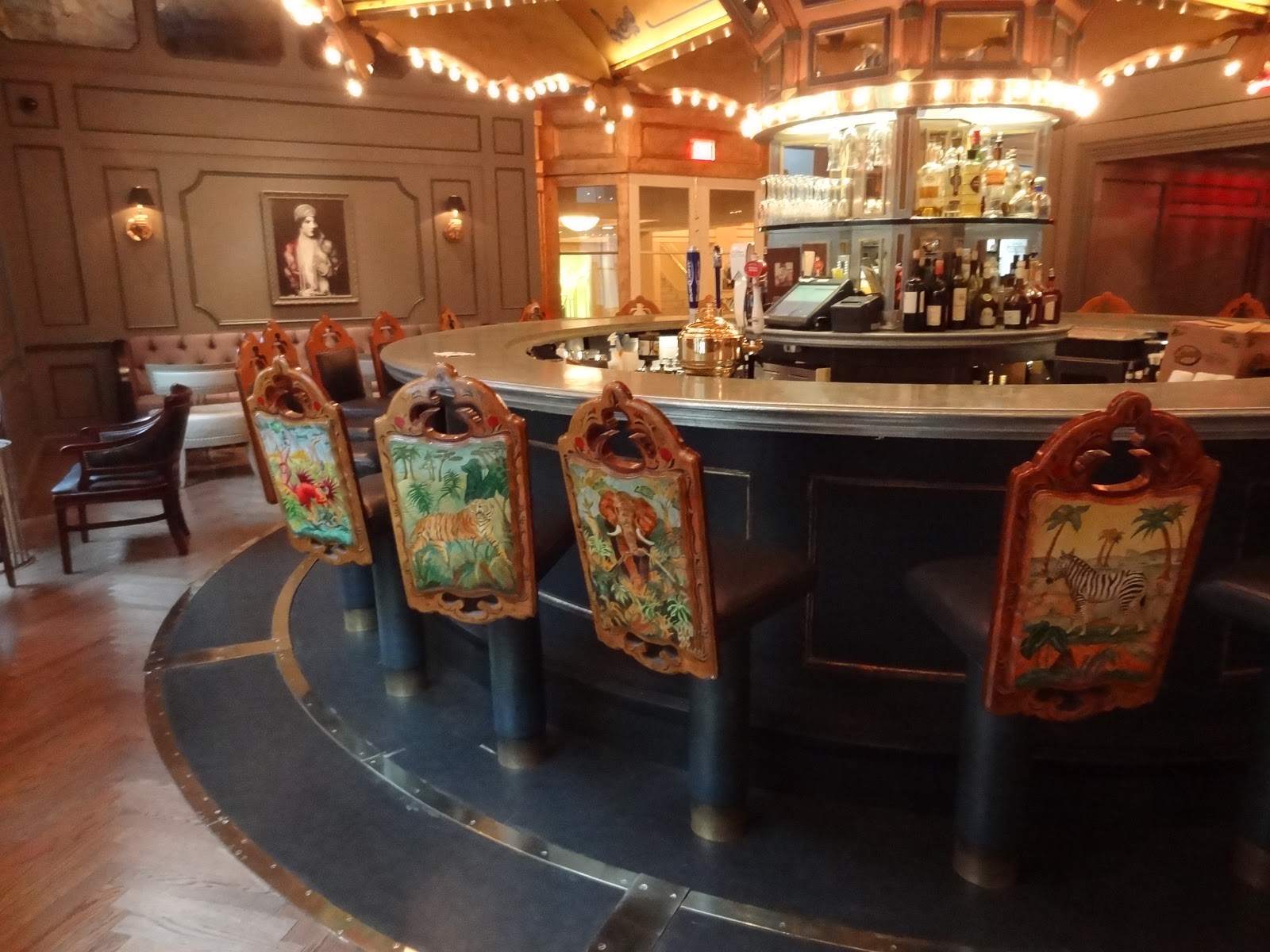 Jo traveler art for the eye at carousel bar new orleans
