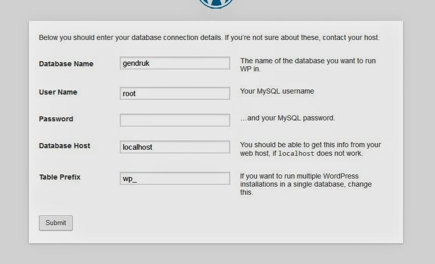 Cara Install WordPress di Localhost