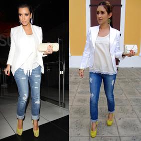 Kim Kardashian lime pumps