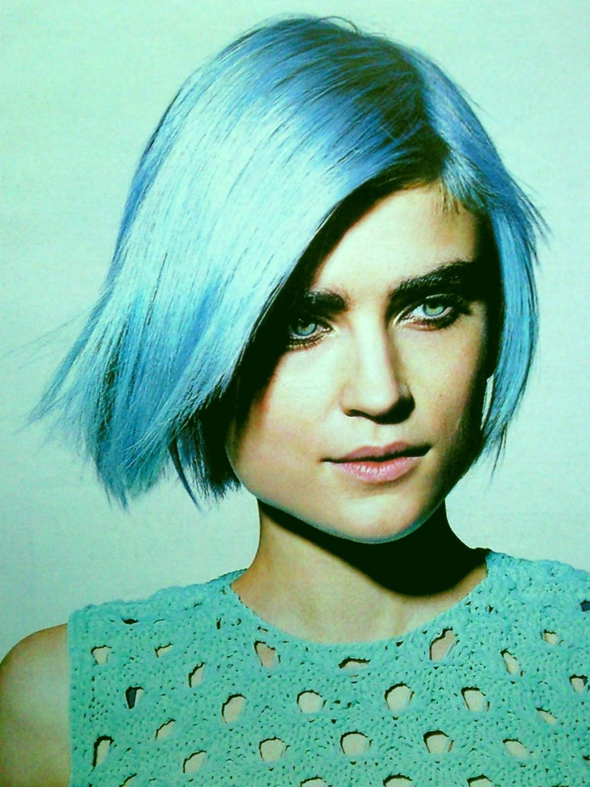 Baño Color Azul Pelo:Cabello: Una locura: Baño de color o tinte ~ Con algo de Estilo