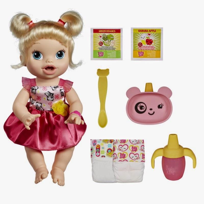 Boneca interativa Baby Alive Loira Hora de Comer