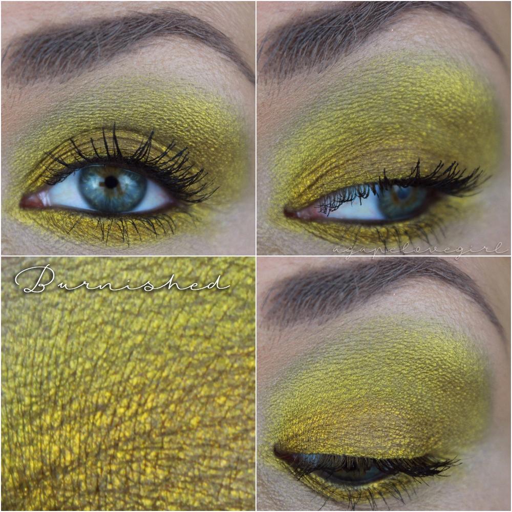 Agape Love Designs January 2016 Pixy Line Shadow Eyeliner Green Coppermine