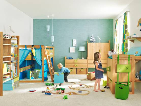 Crazy doodles creative and fun kids playroom design ideas for Kids play rooms