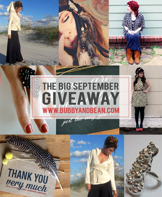The Bubby and Bean Big August Giveaway // Win a $300 Prize Package!