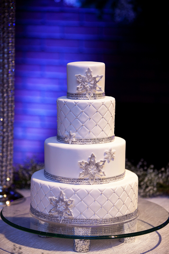 winter wedding theme is the perfect touch for a beautiful reception