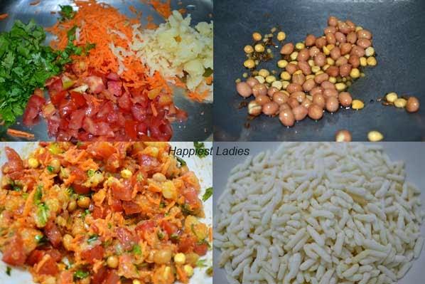 Masala Bhel Recipe/ Spicy Puffed Rice – Easy Snack