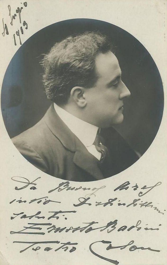 ITALIAN BARITONE ERNESTO BADINI (1876-1938) CD