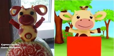 tiny love из фруктов детский праздник