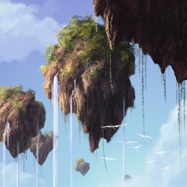 Avatar Pandora Landscape: Avatar Floating