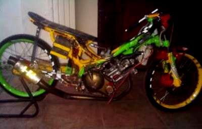 Modifikasi Yamaha Jupiter MX Drag - Gambar Modifikasi Motor Terbaru