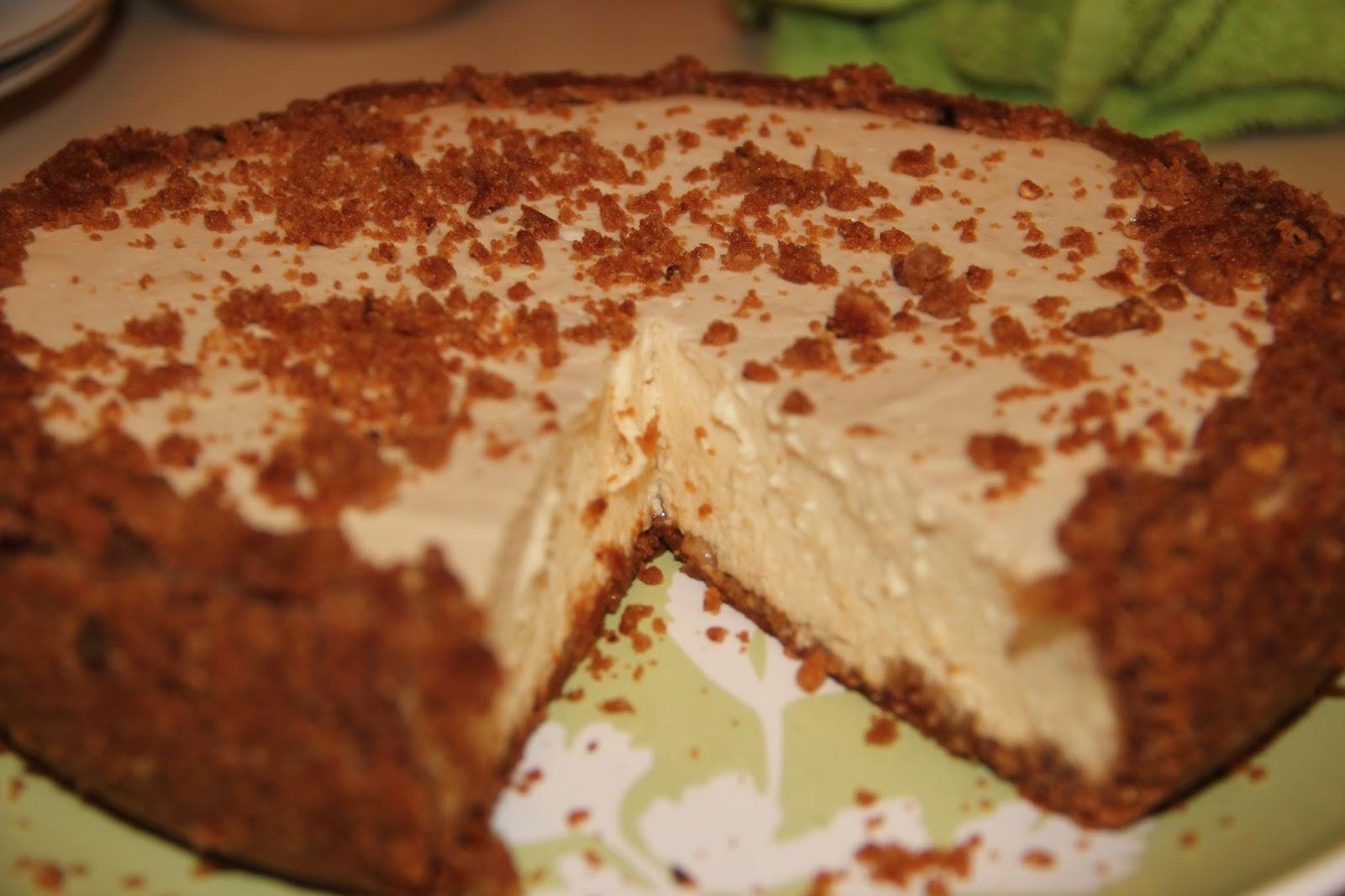 Чизкейк с бисквитом рецепт пошагово