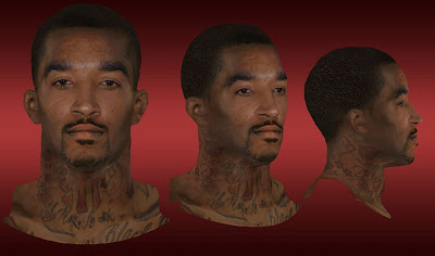 NBA 2K13 J.R. Smith Cyberface Update