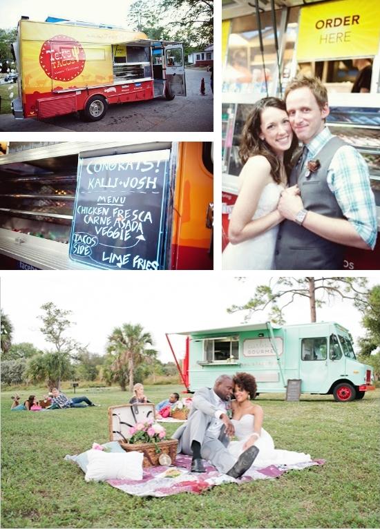 Food Truck Wedding Inspiration