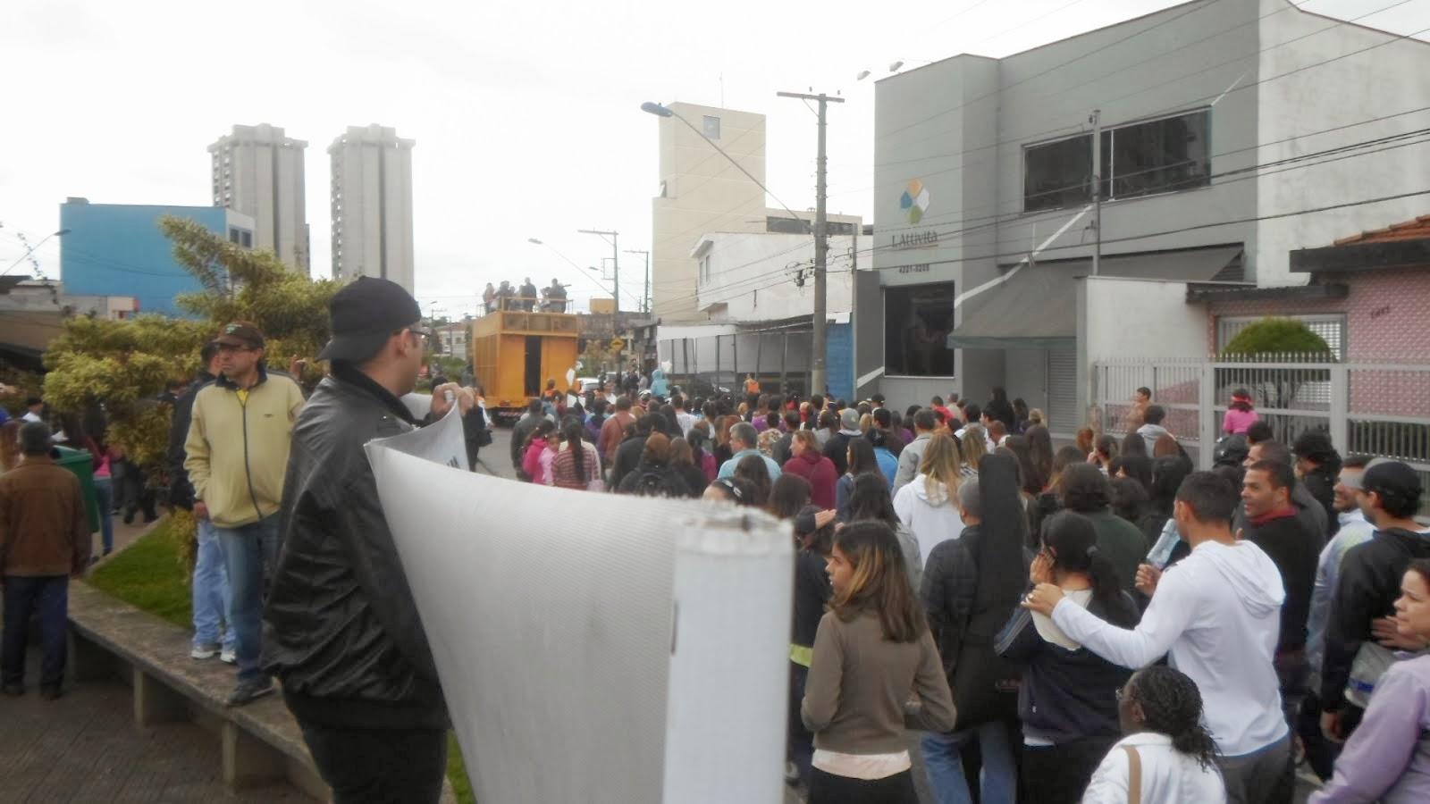 Marcha em São Caetano 08/13