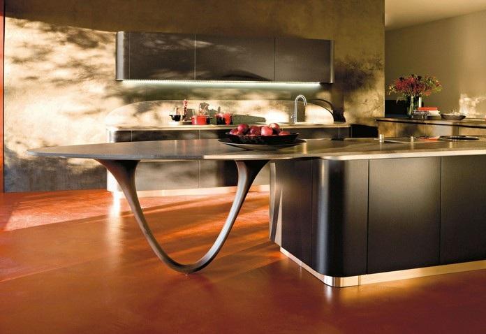 Furniture Interior Design: The kitchen of Pininfarina