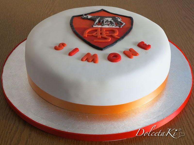 torta scudetto della roma