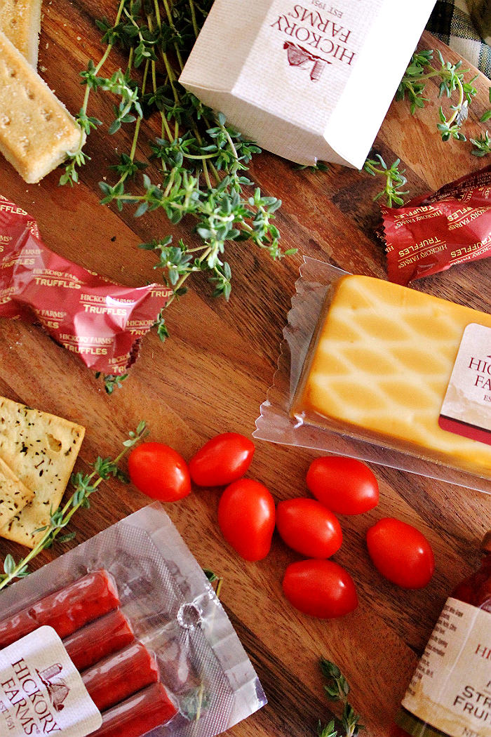 #HickoryTradition AD Hickory Farms gifts