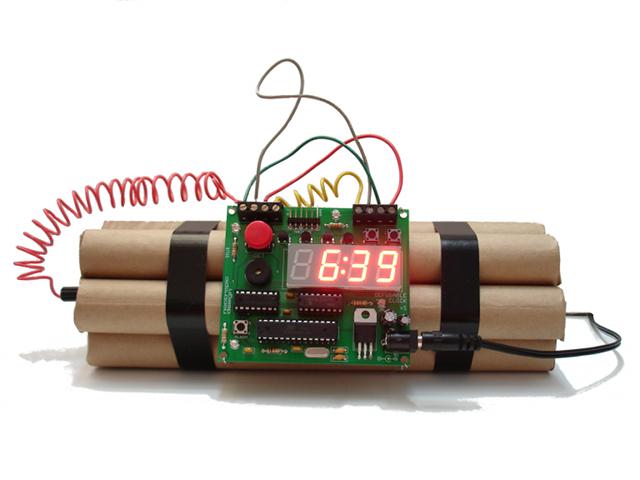 Defusable Alarm Clock Wake Up With Adventure Bonjourlife