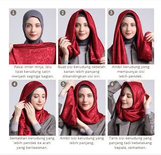 Kumpulan Tutorial Hijab Modern untuk Lebaran