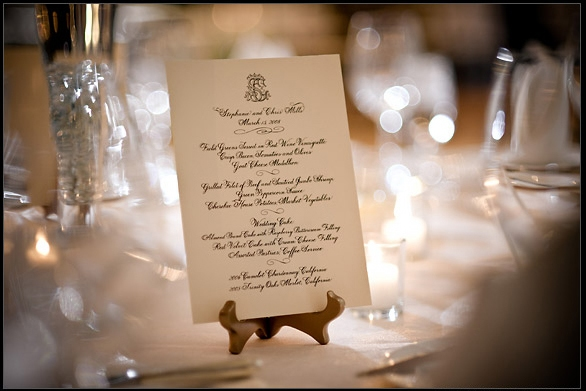 Viva La Sposa Menu For A Wedding In Italy
