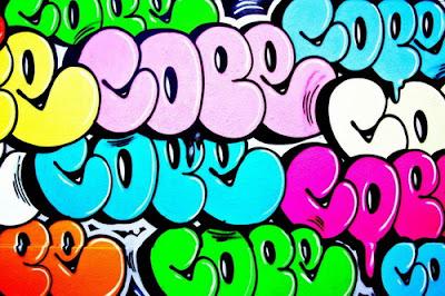 Bubble style graffiti tag cope2 graffiti tag bubble by the artist s