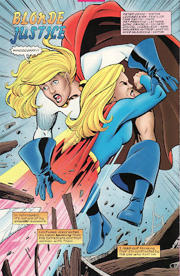 Mentary Back Issue Bo Supergirl Meets Power Girl