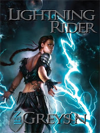 Lightning Rider Blog Tour!