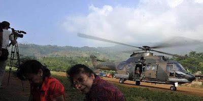 12 Korban Pesawat Sukhoi Ditemukan