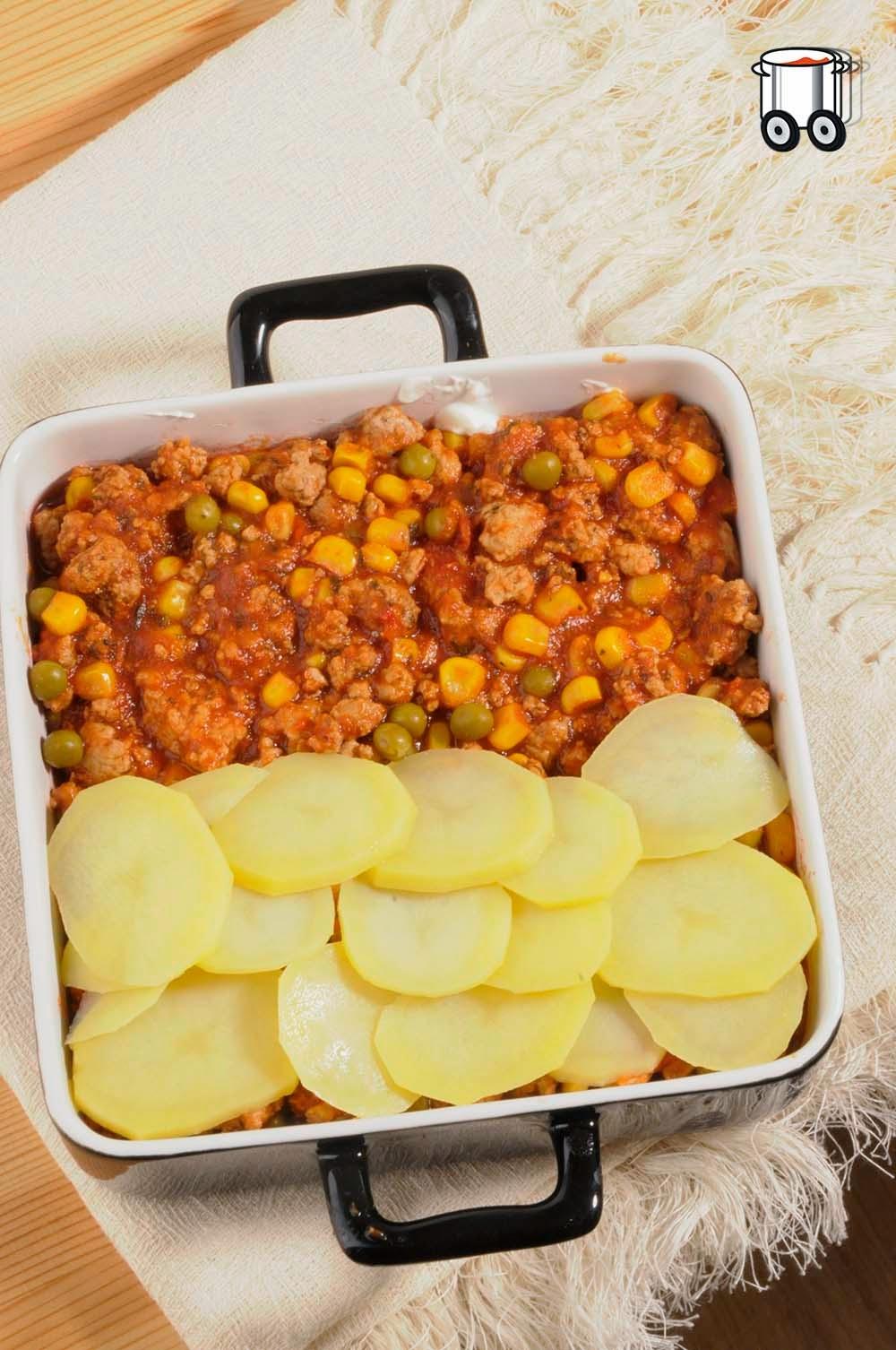 Szybko Tanio Smacznie - Zapiekanka z ziemniaków i mięsa mielonego