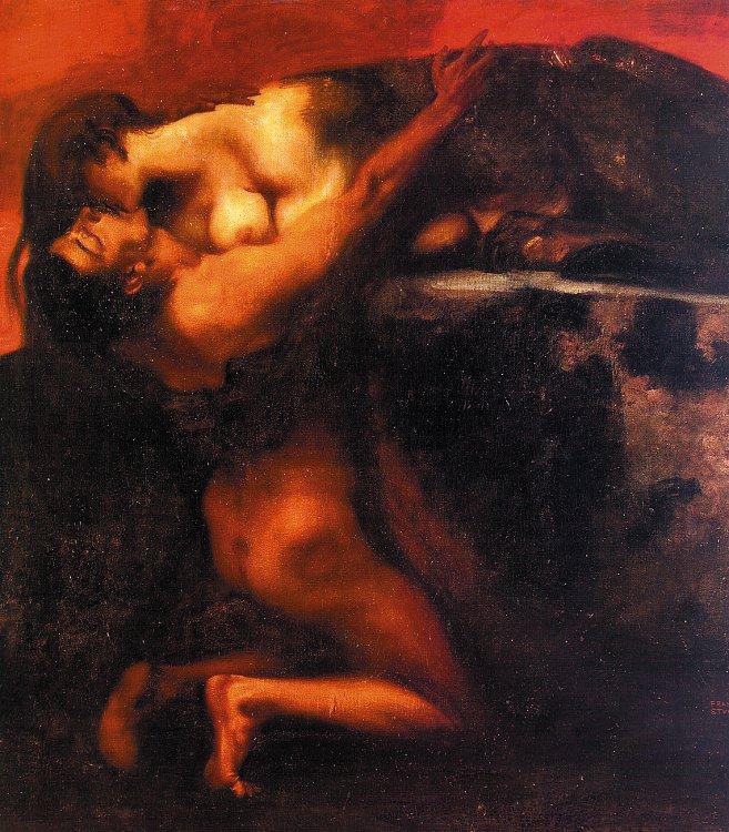 My World Franz+Von+Stuck+The+Kiss+of+the+Sphinx
