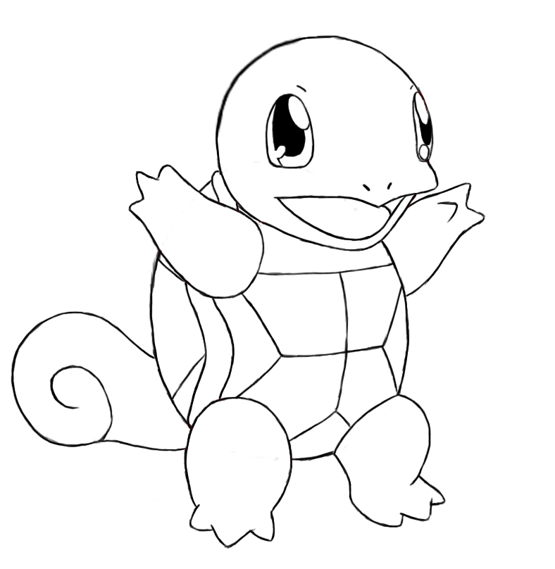 Draw Squirtle 42