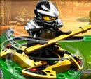 Ninjago Energy Spear Battle