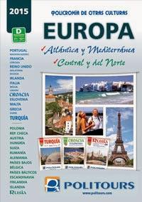 Politours Europa 2015 Catálogo